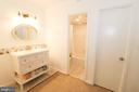 Master Bath - 3709 S GEORGE MASON DR #210, FALLS CHURCH