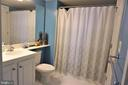 2nd full bath - 11710 OLD GEORGETOWN RD #630, NORTH BETHESDA