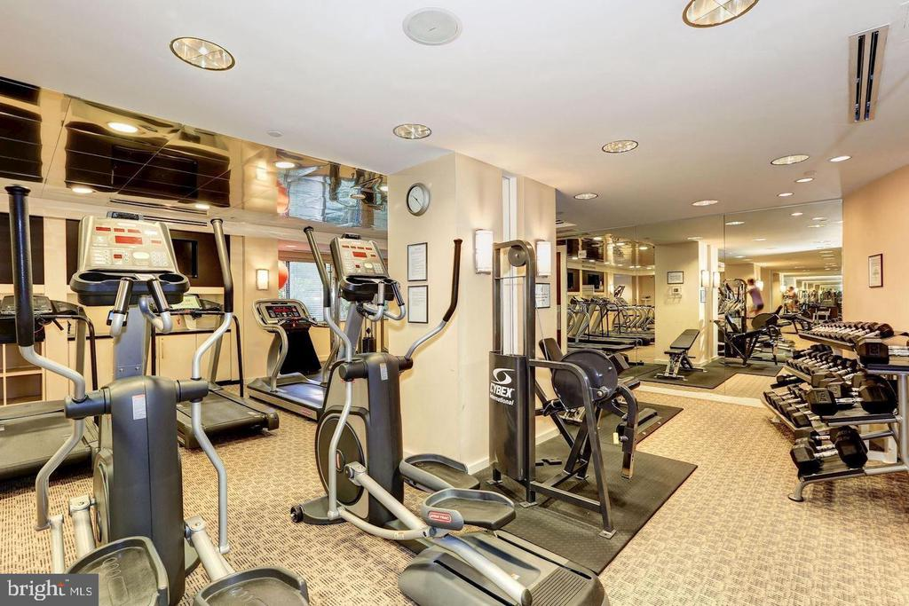Community gym - 11710 OLD GEORGETOWN RD #630, NORTH BETHESDA