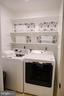 Laundry room off of Kitchen - 17281 PICKWICK DR, PURCELLVILLE