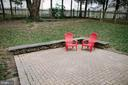 Brick patio - 17281 PICKWICK DR, PURCELLVILLE