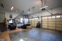 Built In Shelving in Oversized Garage - 167 BROOKE RD, FREDERICKSBURG