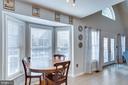 Breakfast Nook, Bay Window - 167 BROOKE RD, FREDERICKSBURG