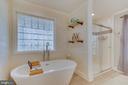 Free Standing Tub, New Ceramic Plank Flooring - 167 BROOKE RD, FREDERICKSBURG