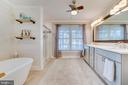 Master Bathroom: Quartz Custom Vanity - 167 BROOKE RD, FREDERICKSBURG