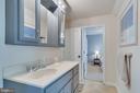 Jack & Jill Upper Level Bathroom - 167 BROOKE RD, FREDERICKSBURG