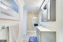 Glass Shower - 167 BROOKE RD, FREDERICKSBURG
