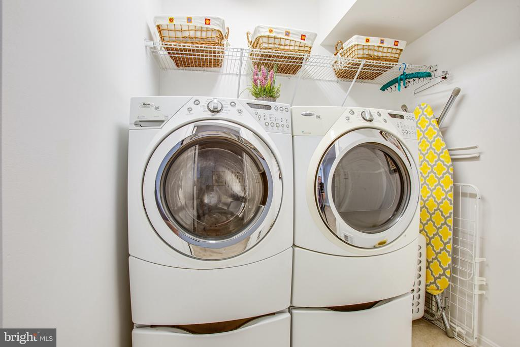 Washer & dryer - separate laundry room upstairs - 75 COLEMANS MILL DR, FREDERICKSBURG