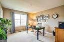 Bedroom 4 serves as office for the owners - 75 COLEMANS MILL DR, FREDERICKSBURG