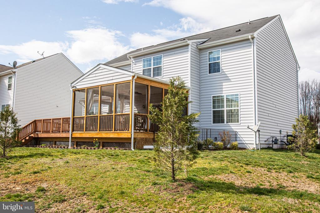 Young trees will mature and offer shade - 75 COLEMANS MILL DR, FREDERICKSBURG