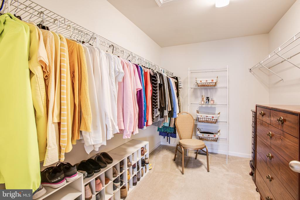 One of two walk-in closets - 75 COLEMANS MILL DR, FREDERICKSBURG
