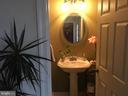 Half bath off laundry & mud room - 12090 MOUNTAIN WATCH CT, LOVETTSVILLE
