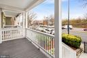 Beautiful front porch - 2509 N CAPITOL ST NE, WASHINGTON