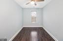 Bedroom #2 on top level - 2509 N CAPITOL ST NE, WASHINGTON