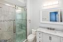 En Suite Bathroom in Master Bedroom - 2509 N CAPITOL ST NE, WASHINGTON