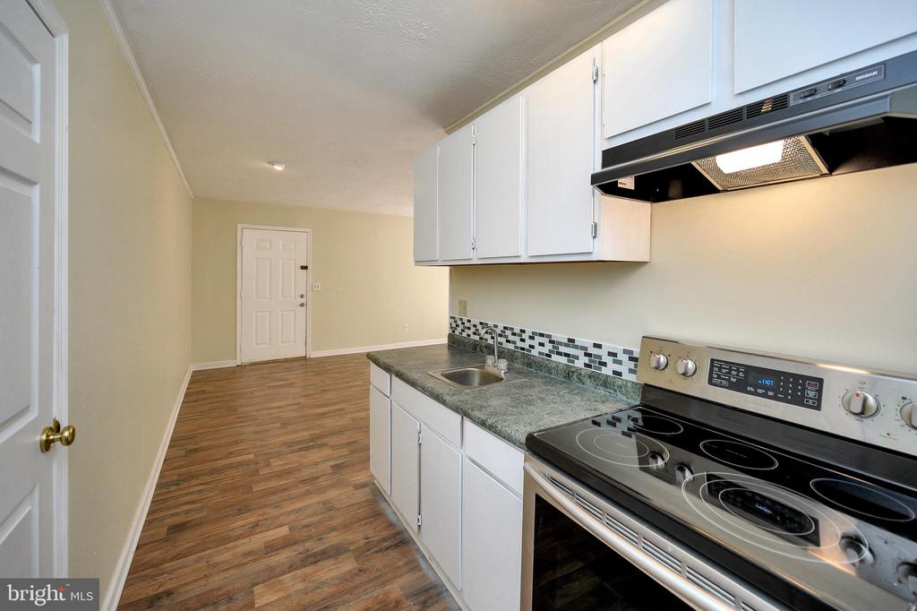 Galley kitchen in the in law suite. - 7324 EMBREY DR, LOCUST GROVE