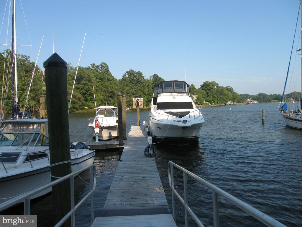 Gang way New floating dock with electric and water - 1643 ORCHARD BEACH RD, ANNAPOLIS