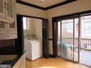Main level unit laundry - 1803 2ND ST NW, WASHINGTON