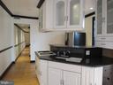 Main level unit kitchen - 1803 2ND ST NW, WASHINGTON