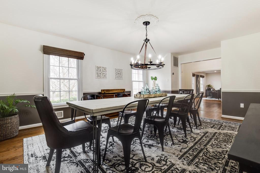 Dining Room - 8511 CATHEDRAL FOREST DR, FAIRFAX STATION