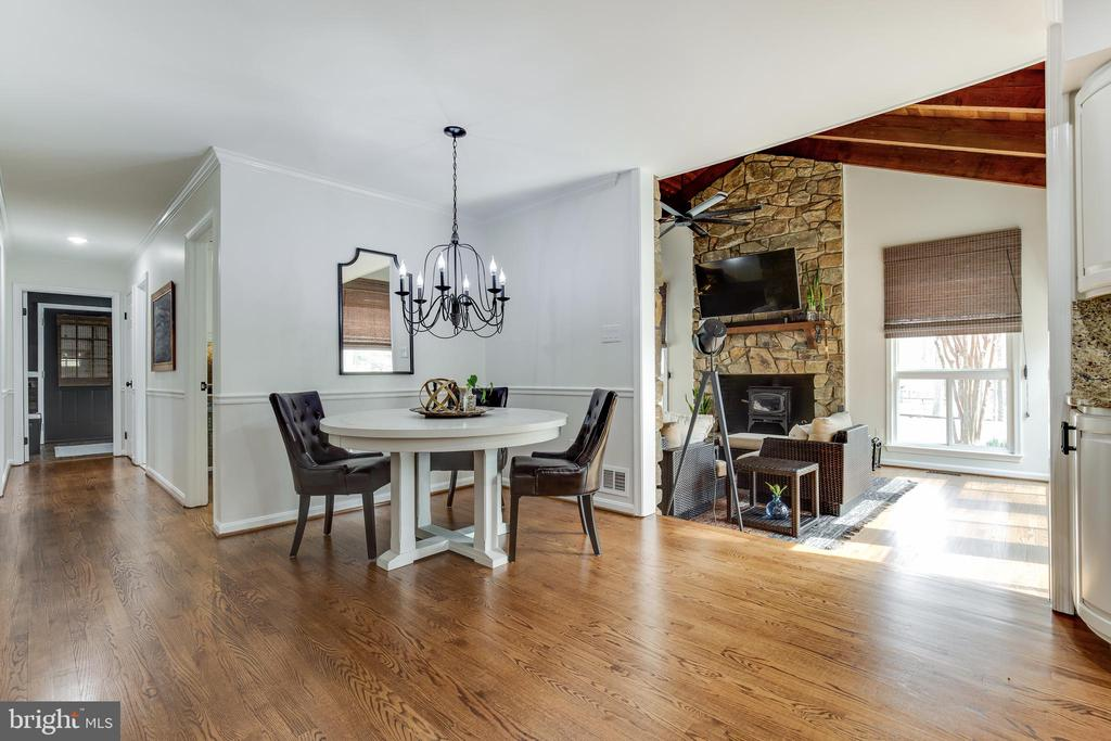 Breakfast Nook - 8511 CATHEDRAL FOREST DR, FAIRFAX STATION