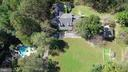 Aerial View of Manor House, Guest & Carriage House - 12466 KONDRUP DR, FULTON