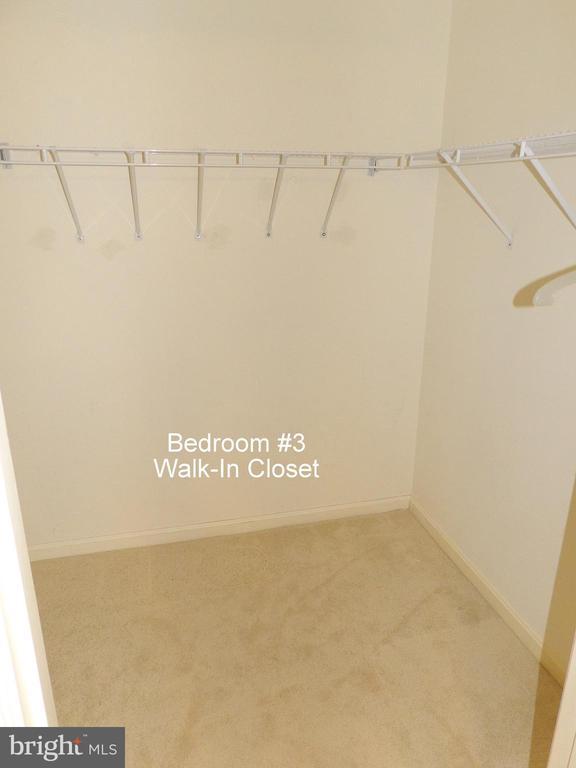 Master Bedroom  Closet - 3801 CANTERBURY RD #514, BALTIMORE