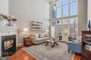 Epic 21-foot ceilings in the great room! - 10104 FARR OAK PL, FAIRFAX