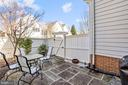 Outdoor patio - 10104 FARR OAK PL, FAIRFAX
