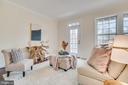 Front living room - main level - 46673 JOUBERT TER, STERLING