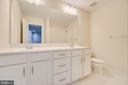 Guest/Upstairs Hall Bathroom - Full - 46673 JOUBERT TER, STERLING