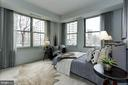 Bedroom two with surrounding light - 2425 L ST NW #203, WASHINGTON