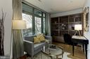 Bedroom 3 / Den perfect for office or guest - 2425 L ST NW #203, WASHINGTON
