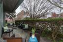 Rare to finds Private patio and lawn great for pet - 2425 L ST NW #203, WASHINGTON