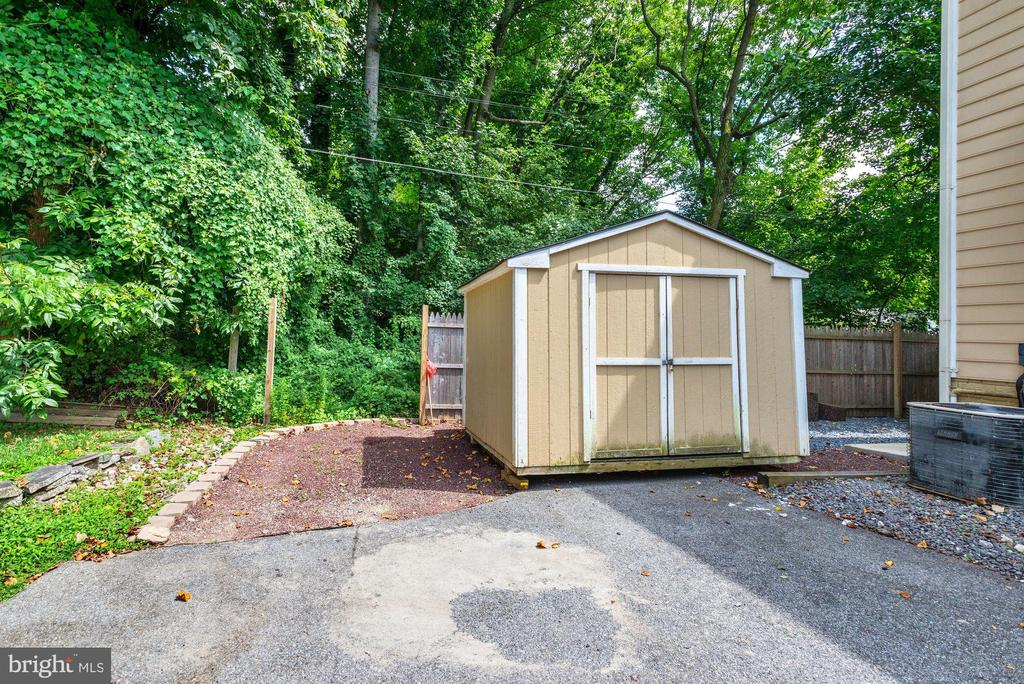 Shed can be moved for more parking - 5623 MASSACHUSETTS AVE, BETHESDA