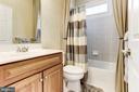Bathroom for bedroom 3 - 14943 FINEGAN FARM DR, DARNESTOWN