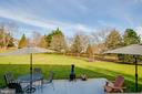 Patio for entertaining! - 18 BASKET CT, STAFFORD