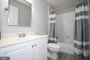 Upper Level 3rd Bath - 19876 BETHPAGE CT, ASHBURN