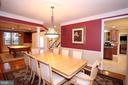 Formal Dining - 19876 BETHPAGE CT, ASHBURN