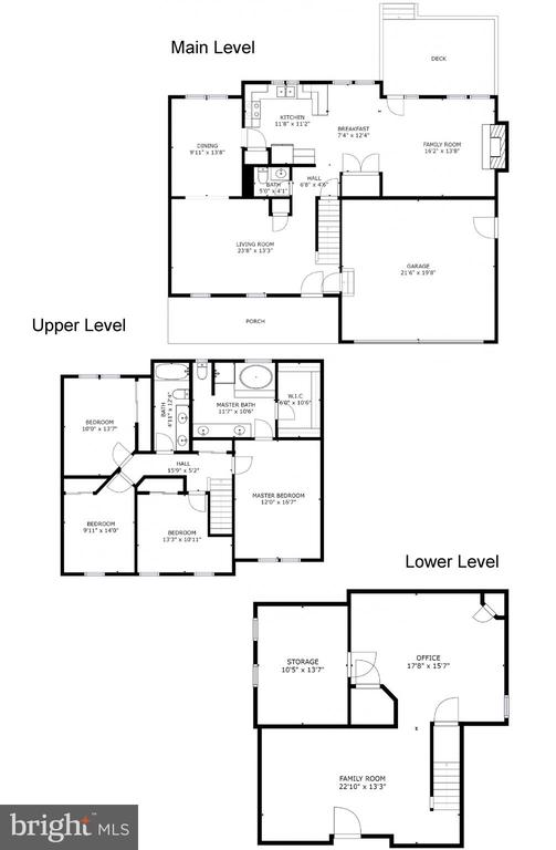 Property floor plans - 12911 ASHTON OAKS DR, FAIRFAX