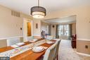 Dining room - 7108 NEEDWOOD RD, DERWOOD