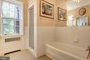 Master Bath with Separate Shower - 1224 30TH ST NW, WASHINGTON