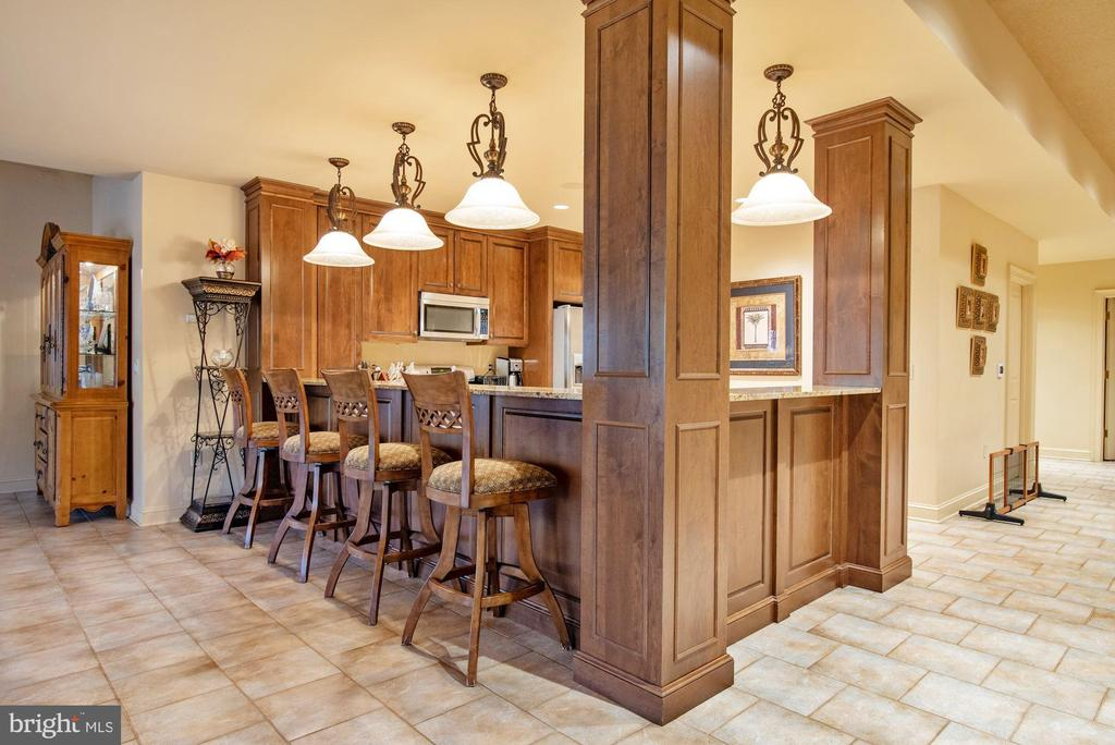 Lower Second Full Kitchen and Bar - 896 ALVERMAR RIDGE DR, MCLEAN