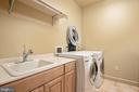 Laundry, Utility Sink & Central Vac w/Hose Set - 896 ALVERMAR RIDGE DR, MCLEAN