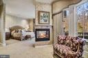 Luxurious Main Level Master Suite Sitti &Fireplace - 896 ALVERMAR RIDGE DR, MCLEAN