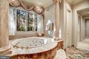 Luxury Bath Suite from Dressing Area - 896 ALVERMAR RIDGE DR, MCLEAN