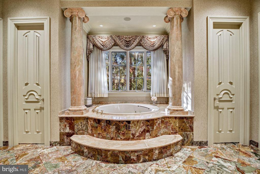 Spa-like Jetted Bath Sided by His/Her Water Closet - 896 ALVERMAR RIDGE DR, MCLEAN