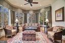Sun Rm, Windows in the Round, Fireplace & Built-in - 896 ALVERMAR RIDGE DR, MCLEAN