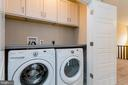 Bedroom level Washer/Dryer  (W/D optional) - 6720 ACCIPITER DR, NEW MARKET