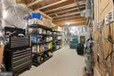 Large storage space on Lower Level - 6271 KINGFISHER LN, ALEXANDRIA